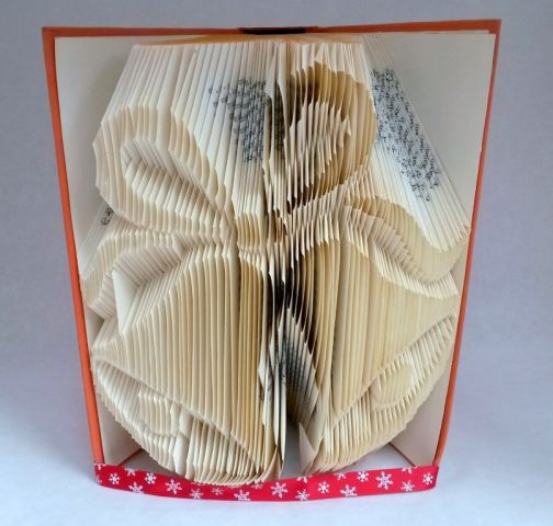 Wedding bells folded pages