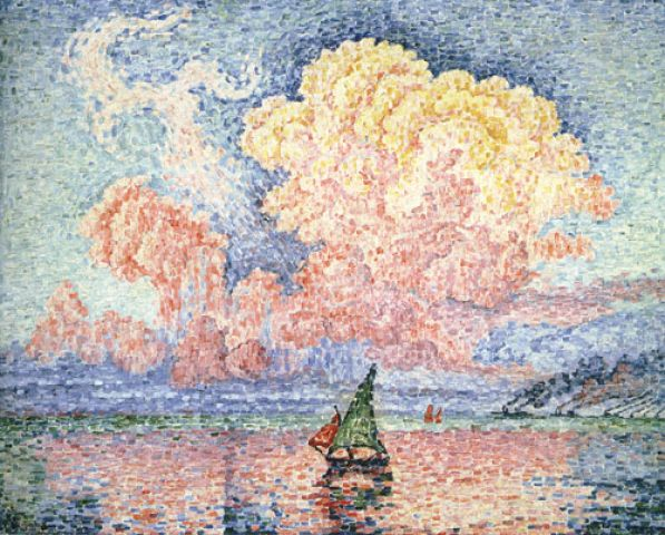 Paul Signac The Pink Cloud Antibes