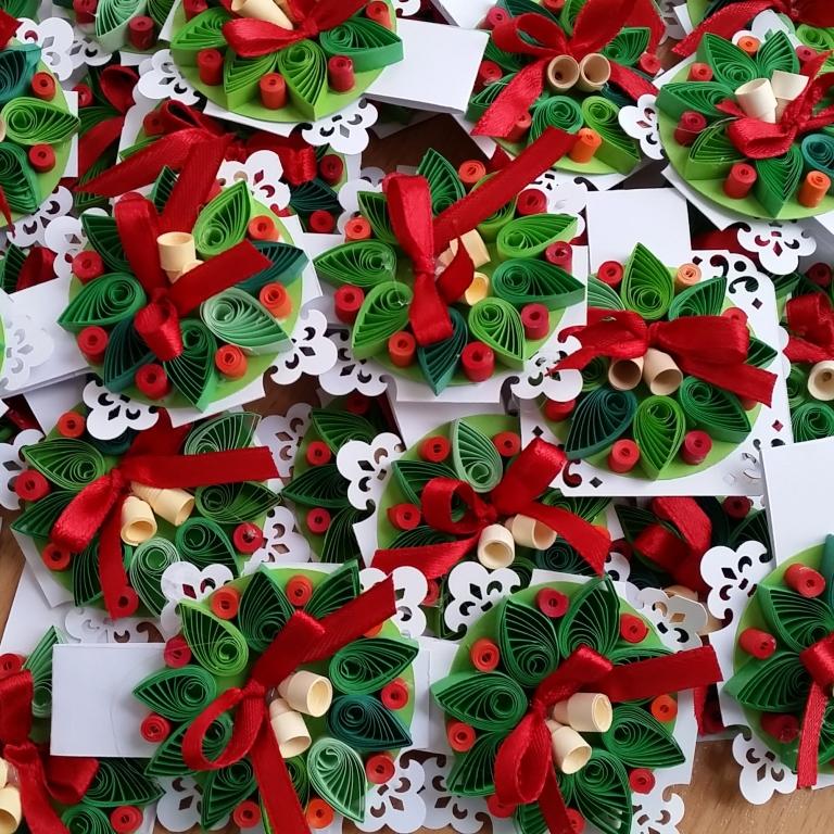 Különleges karácsonyi ötletek quilling technikával